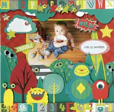 Our Lil' Monster Collection from Bo Bunny - Scrapbook.com