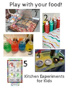 Food Science Experiments for Kids http://i-recipes.net/