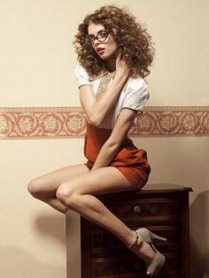 sponge rollers... curls...