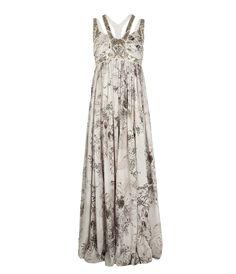 Skull De Jouy Harness Dress by Allsaints Spitalfields