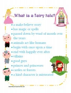 Fairy Tale Unit of Study | Lessons | Reading Workhsop | Anchor Chart | FREE