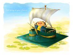 """Sail to the Future"" by Bayu Sadewo"