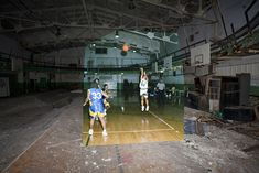 Cass Technical High School old old gym