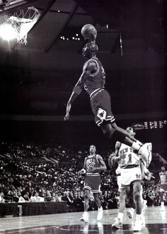 Michael Jordan Beauty in Motion