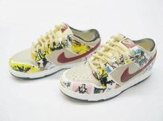 1/6 scale nike shoes.
