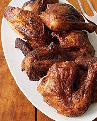 Smoky Barbecued Chicken (this recipe uses honey...yum!)