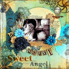 BoBunny Everyday Layouts with designer Irene Tan featuring the Somewhere In Time collection. #Bobunny @scrapperlicious