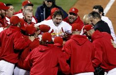 The Cardinals' David Freese slugged a game-winning home run in the 11th inning of Game 6  to force the 2011 World Series to a winner-take-all Game 7.