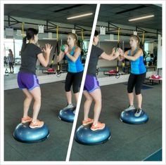 6 BOSU Partner Exercises to Make Fitness Fun