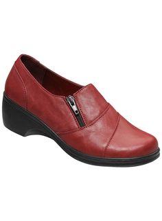 Angel Steps™ Pomona at www.amerimark.com.  Charming slip-on!  #amerimark #shoeshopping #loveshoes #shopforshoes #shoeshop #luvshoes #fallshoes #autumnshoes