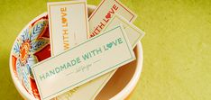 """Craftsy's """"Homemade with Love"""" Tags, Available for Free!"""