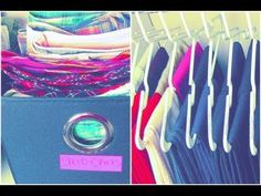 Closet Makeover: How I Organize Jeans and Shorts! i like the shorts filed away in bins