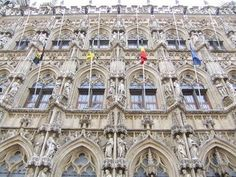 The Town Hall of Leuven