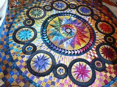 quilt  -- Judy Mathieson's Bristol Stars pattern
