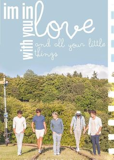 i'm in love with you and all your little things<3