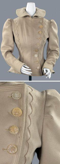 Cycling jacket, 1899. Wool. Rijksmuseum