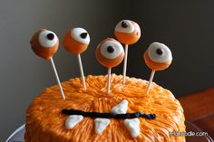 For Halloween or a little boys party. So cute...