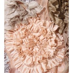 Dries Van Noten - SHERIAN MIDI-SKIRT WITH GATHERED FLORAL APPLIQUÉ