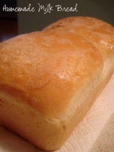 Homemade Milk Bread…