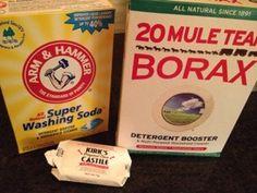 detergent ingredients for powder laundry detergent
