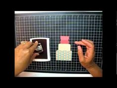 Pop up birthday card video tutorial - MUST have a go at this fab project