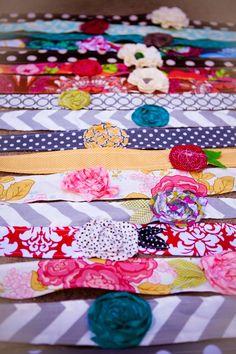 texture, craft idea, fabric headband, scrap fabric, headbands, accessories, hair, diy, crafts