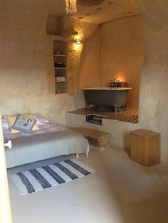 Renovated Cave in France - Before and After Photos