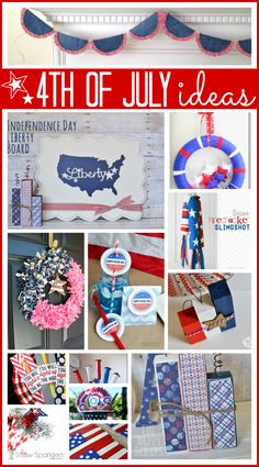 Lots of 4th of July Projects at the36thavenue.com