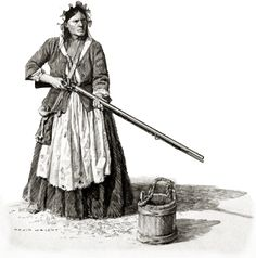 """In the Southern Backcountry (Scots-Irish country!) during the American Revolution, British Major Patrick Ferguson found that """"the people he encountered were 'the most violent young rebels' he had ever seen - 'particularly the young ladies.'"""" - fm the book, """"Chasing the Frontier, Scots-Irish in Early America"""" by Larry J. Hoeffling"""