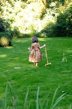 Lawn Games  beautiful lawn