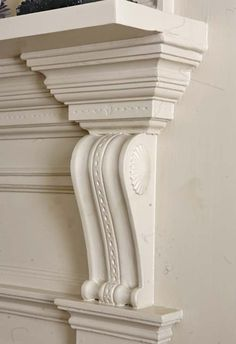 Close-up of a mantel in a house in Petersburg, Virginia featured in our April issue.