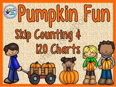 Pumpkin Fun - Skip Counting and 120 Chart from First Grade Fun Times on TeachersNotebook.com -  (35 pages)  - Skip Counting, 120 Charts - Pumpkin themed