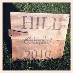 Old Barn Wood Established Sign by robinsj23 on Etsy, $59.99