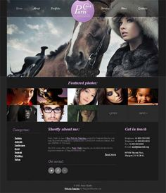 Free Website Template Photography