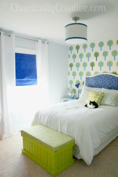 Eco Friendly Modern Forest themed child's room