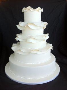 Beautiful wedding cake by Sublime Bakery!