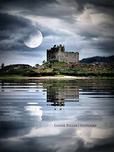 This is Scotland - Castle Tioram... would love to travel to Scotland one day and castle hop every day!!!!!!!!!!!
