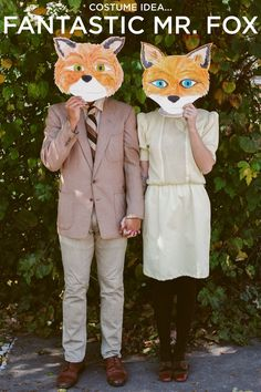 Fantastic Mr. Fox Couples Costume