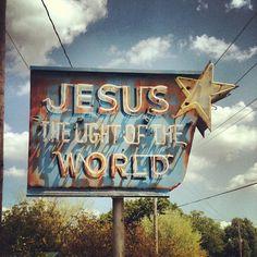 lights, jesus saves, god, neon signs, blog