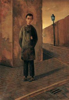 depth of reality - Felix Nussbaum (Felix Nussbaum, 1904-1944). '' If I disappear - do not let my paintings die'' paint die, felix nussbaum