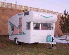 trailer restoration, vintage travel trailers, vintag trailer