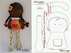 Mimin Dolls - Going to try making these for my grands and nieces