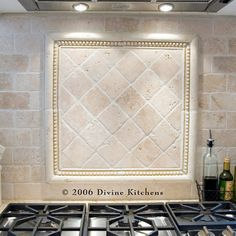 Tumbled Travertine Backsplash Design Ideas, Pictures, Remodel, and Decor - page 12