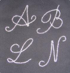 Custom Monogram Jewelry- Part One
