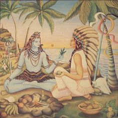 Shiva, the God of Sativa? | In Hinduism, cannabis usage is commonly related to worshiping Shiva, so much so that he is often referred to as the god of marijuana. Legends tell Shiva napping under a cannabis plant after a tiresome argument with family and, after awaking, sampled the plant and instantly felt rejuvenated.The plant became his favorite food and a token part of his identity.