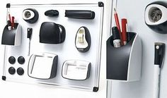 cubicle office accessories | ... Office Set helps you stick your office supplies to your cubicle wall