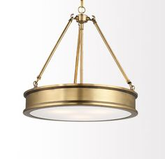 Harbour Point Drum Pendant by Minka-Lavery