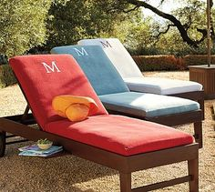 Outdoor on pinterest outdoor daybed chaise lounges and for Chaise lounge covers terry cloth