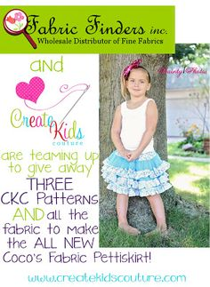 CKC contest to win fabric and patterns!