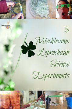 5 Mischievous Leprechaun Science Experiments for Kids